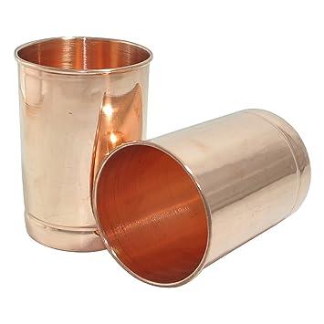 Drinkware Wasser Tumbler paar Kupfer Edelstahl Geschirr Trinkglas