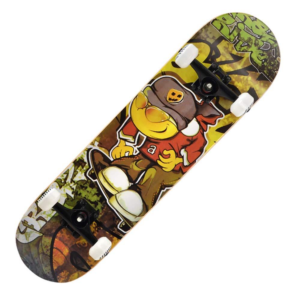 tienda en linea KD Patín De Arce PU Rueda Moda Skate Al Al Al Aire Libre Deporte Dedicado Skate Young Exclusivo Deporte Cepillo De La Calle Skate,1  muchas concesiones
