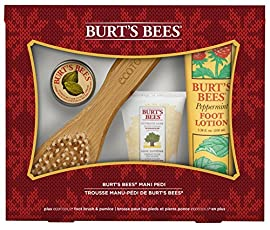 Burt's Bees Mani Pedi Holiday Gift Set, 4 Products in Gift Box