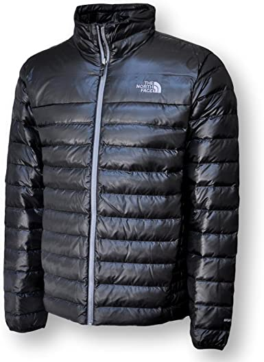 Mens TNF The North Face Flare FZ Packable 550-Down Puffer Insulated Vest Black