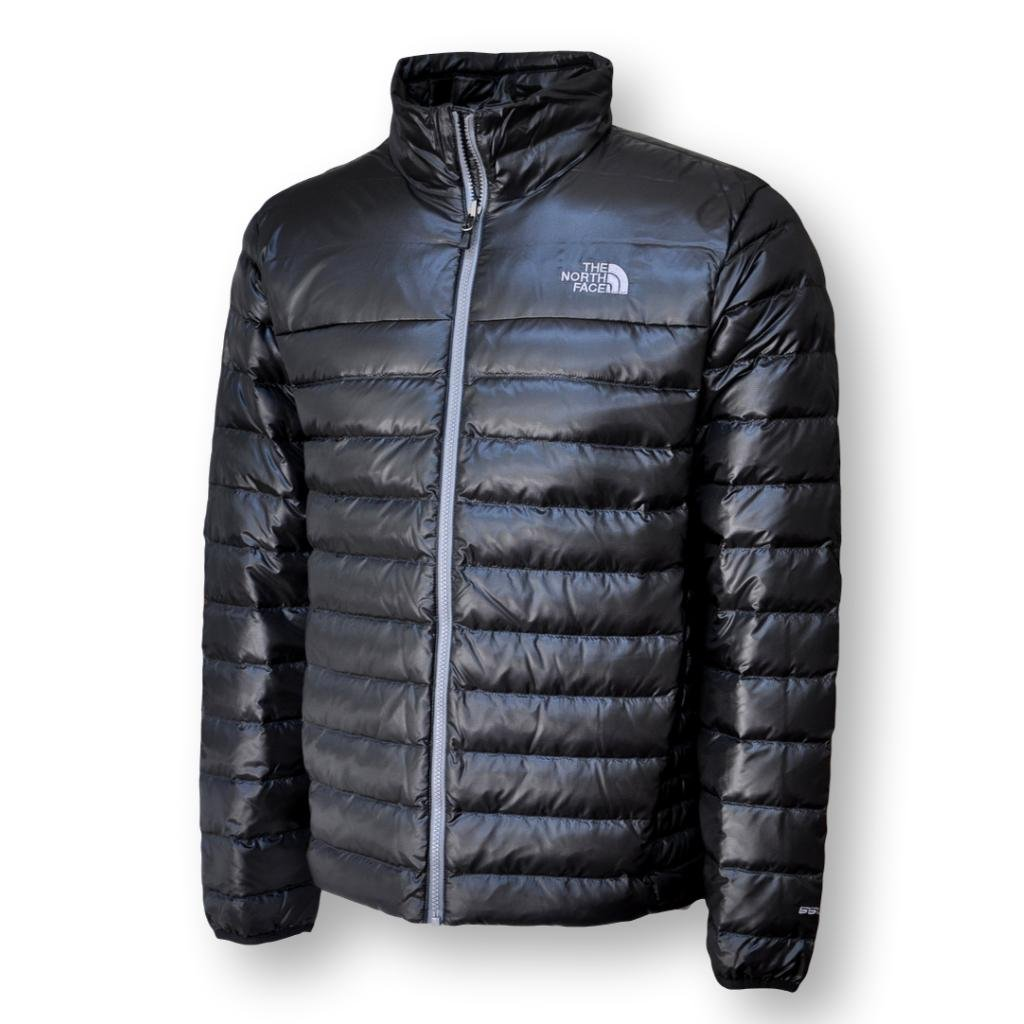590280986 The North Face Men's Flare 550 Down Jacket, TNF Black, Larg