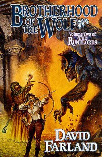 Brotherhood of the Wolf: Volume Two of 'The Runelords'