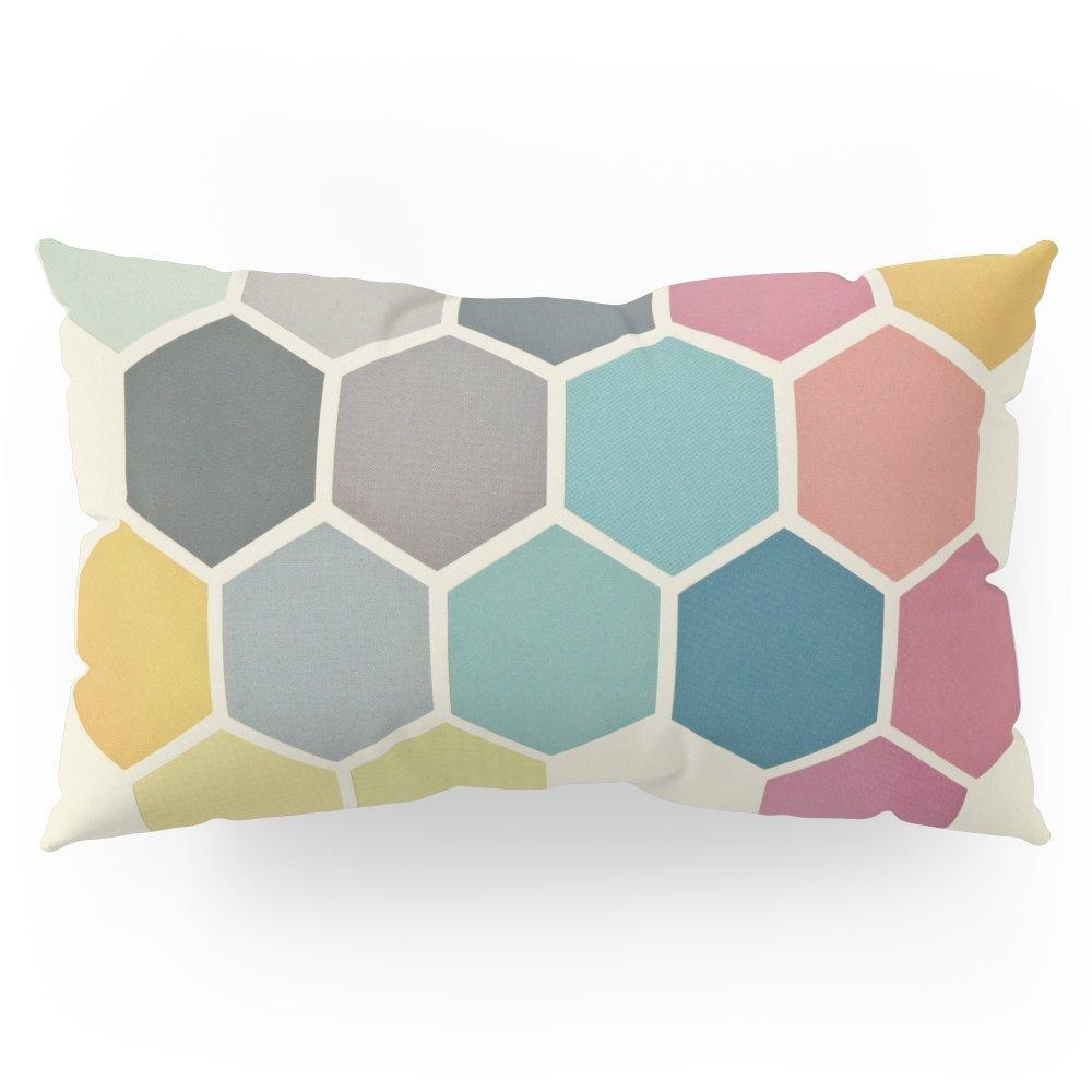 Society6 Honeycomb II Pillow Sham King (20'' x 36'') Set of 2
