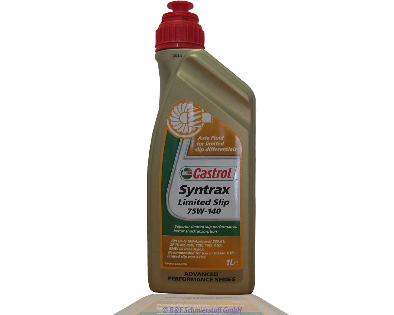 Castrol Syntrax Slip 75w-140 1 l