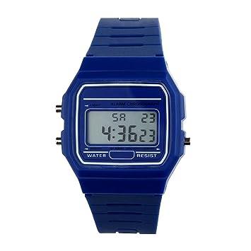 Fulltime (TM) - reloj, correa de caucho de silicona, reloj digital,