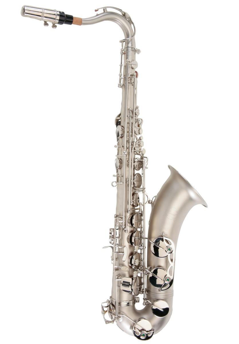 Ravel RTS201SBN TS002NSB Sand Blasted Nickel Student Tenor Saxophone with High F#