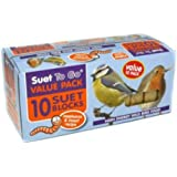 Suet To Go Mealworm & Insect Suet Blocks 10pck
