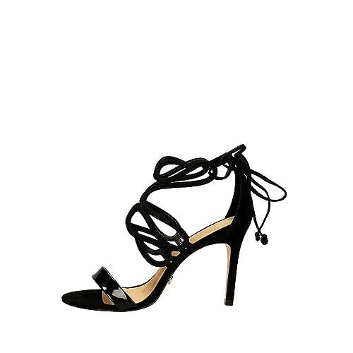 online retailer 1de27 289dc Vicenza 235011 Sandalo con Tacco Donna Nero 38: Amazon.it ...