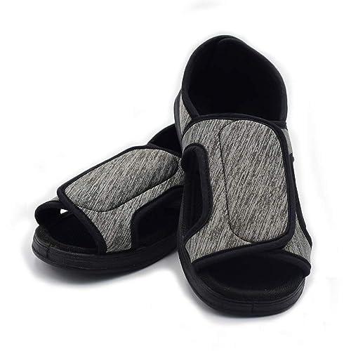 618a71241661e Mei MACLEOD Women Extra Wide Width Arthritis Edema Open Toe Slipper ...