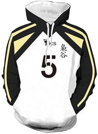 Akaashi Keiji Hoodie Sweatshirt Fukurodan Volleyball Uniform Cosplay Costume Pullover Top