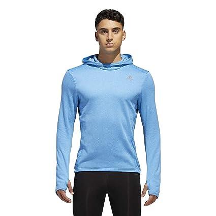 Adidas Running Response Astro Sudadera con Capucha, Azul