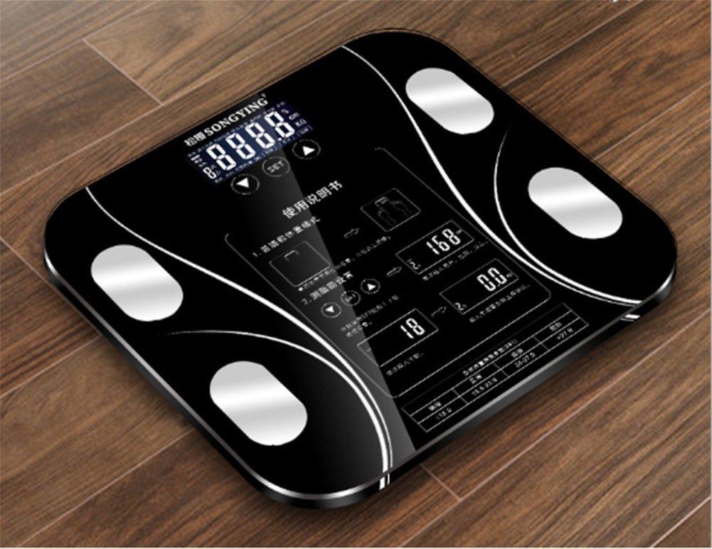 PLYY Báscula de Grasa Corporal Recargable USB Que Pesa Básculas electrónicas caseras Básculas gordas Báscula exacta del Cuerpo, Pink: Amazon.es: Deportes y ...
