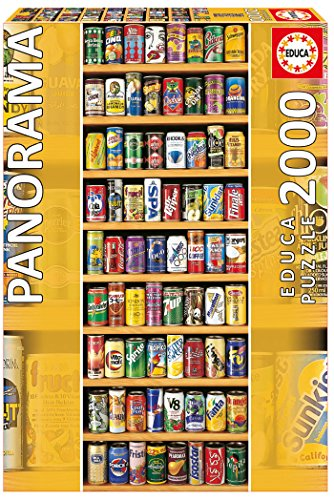 Soft Cans Panoramic Puzzle - 2000 Piece