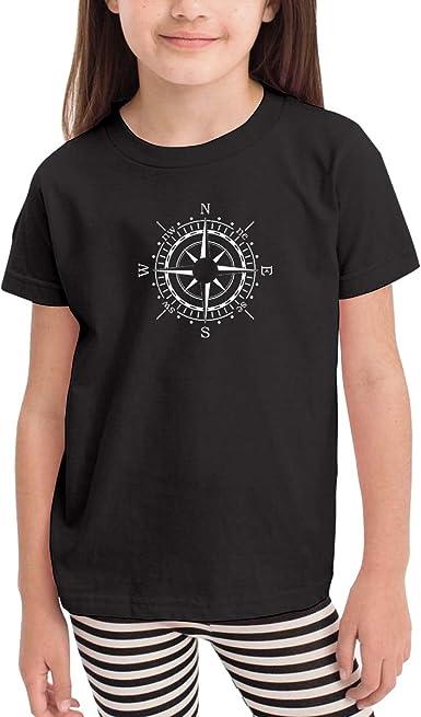 Childrens Compass Soft Short Sleeve Tee Shirt Size 2-6