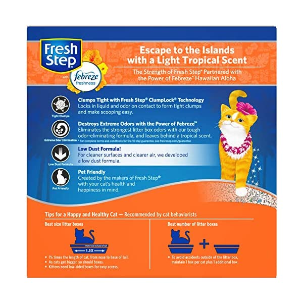 Fresh Step Advanced Extreme Clumping Cat Litter with Odor Control 2