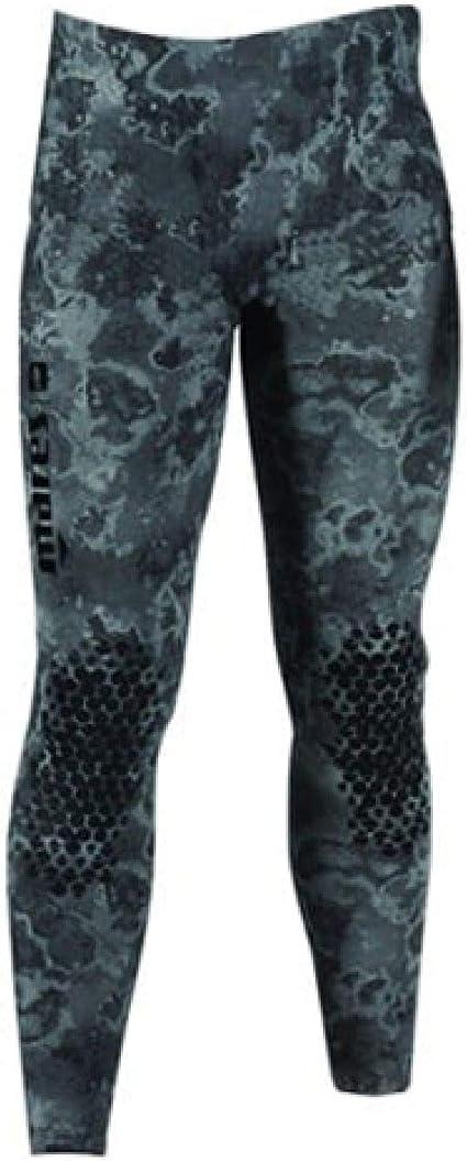 Black Camo Pants Only Mares 5mm Explorer Wetsuit - Freediving Scuba Diving