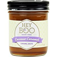 Coconut Caramel Sauce by Hey Boo - Delicious - No Corn Syrup - Vegan - Made
