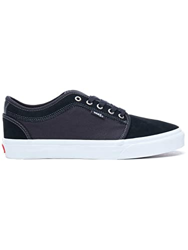 40099d548f3b82 Vans Chukka Low Black White Chili Pepper (6.5 D(M) US