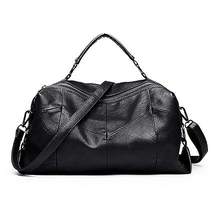 fcea2e81015e GSYDXKB Women's Fashion Shoulder Bag Handbag Soft Leather Bag Top ...