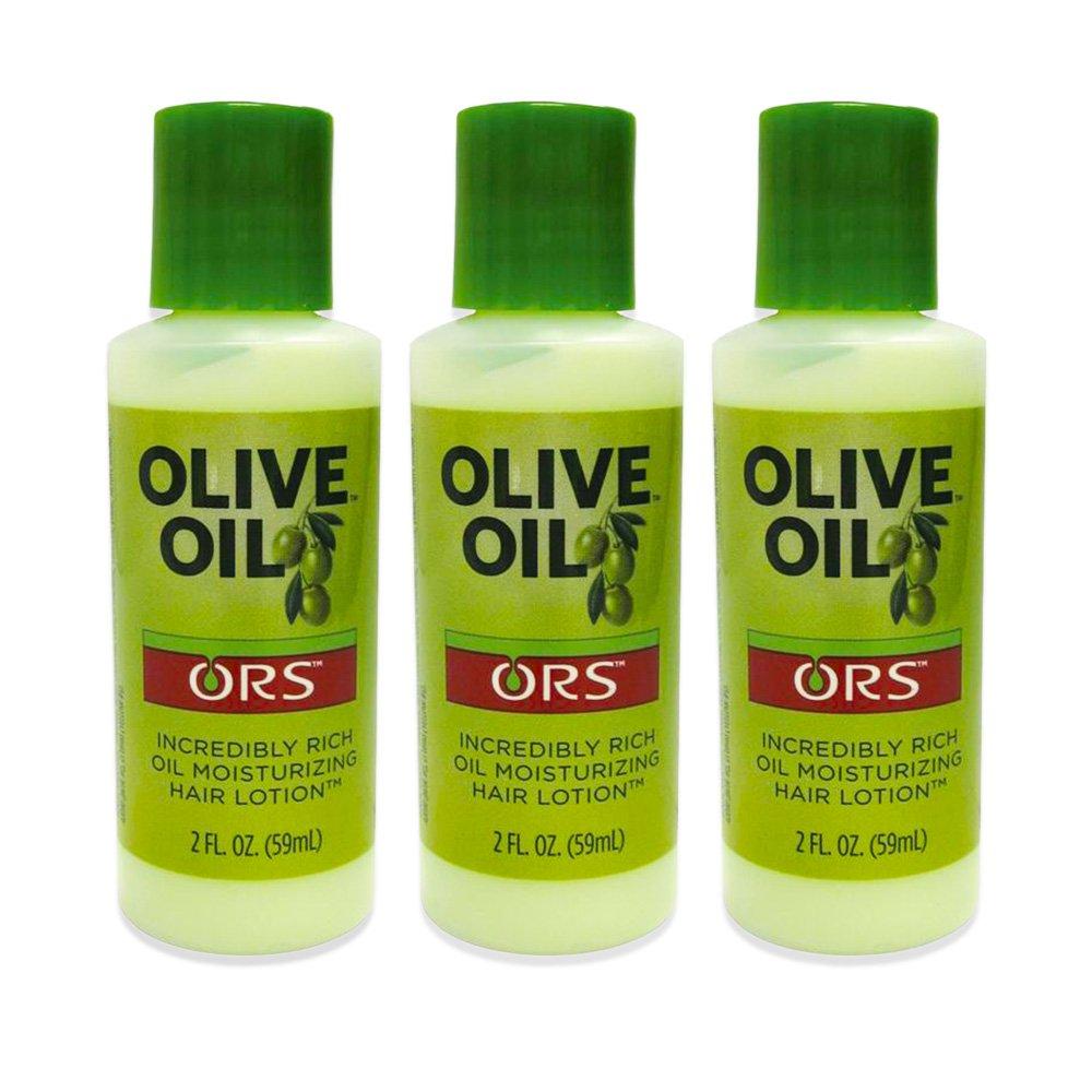 Organic Root Stimulator Olive Oil Moisturizing Hair Lotion, 2.0 Ounce, Travel Size (2.0 oz (3 Pack))