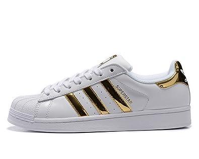 Adidas Originals Superstar womens (USA 7.5) (UK 6) (EU 39)  Amazon ... 573bdd3bcf