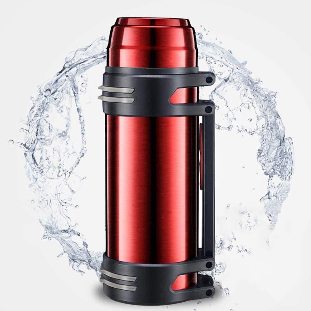 Yarmy Große Kapazität Edelstahl Vakuum Outdoorsport Wasserkocher Auto Tasse Kaffeetasse Becher