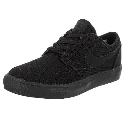 NIKE Kids SB Portmore II CNVS (PS) Skate Shoe
