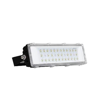 50W LED Flood Light Outdoor, 7000lm Super Bright Security Lights, IP66 Waterproof Outdoor Flood Light, 6500K Daylight White Floodlight for Yard, Garden, Playground, Basketball Court