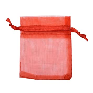 3a72225c163 Image Unavailable. Image not available for. Color  Mudder Organza Gift Bags  Wedding Favour Bags Jewelry Pouches ...