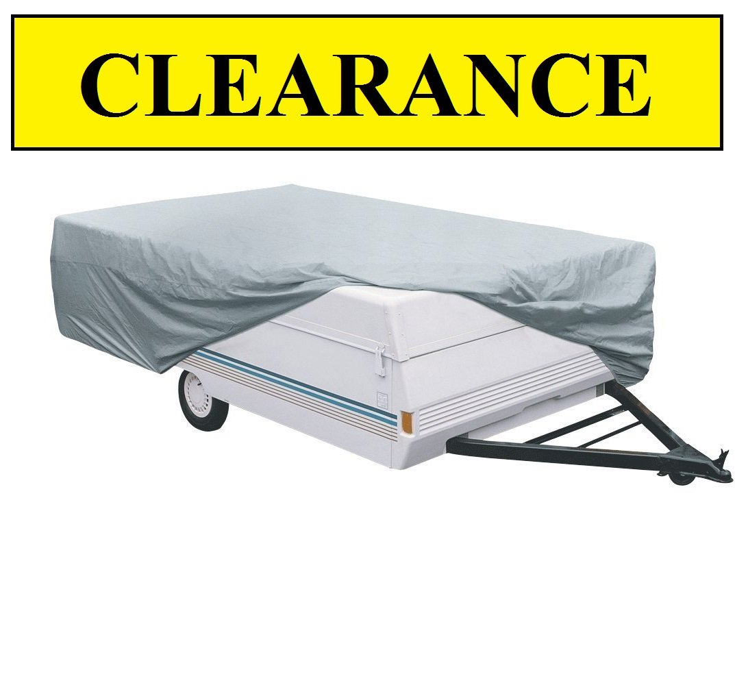 Vortex Deluxe 10 11 12 ft Pop Up/Folding Camper Cover, 87'' wide, 42'' tall 1 TO 4 BUSINESS DAY DELIVERY by Vortex