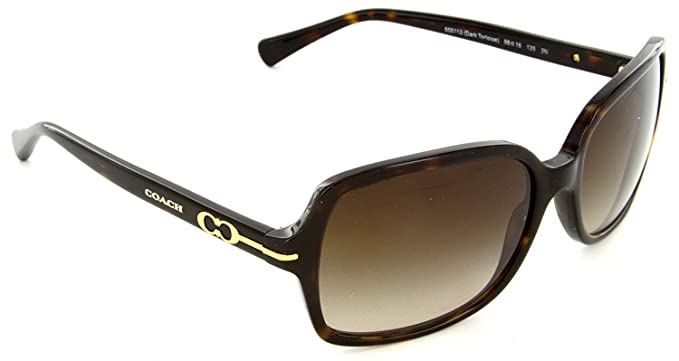 00209754aa5ff Image Unavailable. Image not available for. Colour  Coach Hc 8116 BLAIR  Women s DARK TORTOISE Sunglasses