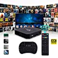 Hanbaili X96 Mini Android 7.1 Amlogic S905W 2GB+16GB Quad Core WiFi HD 4Kx2K Smart TV Box Media Player with I8 Keyboard Perfect For Home Entertainment