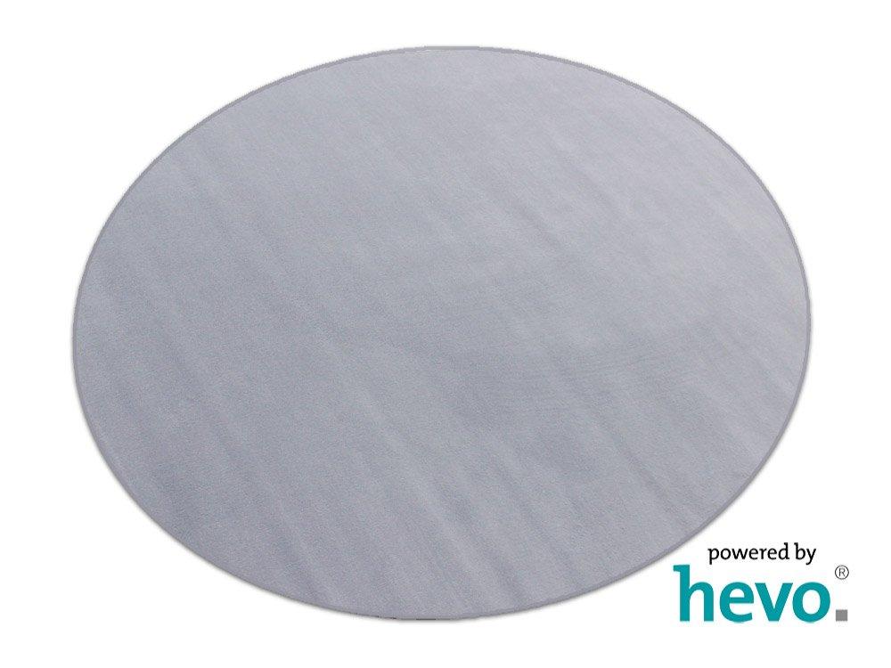HEVO Romeo grau Teppich | Kinderteppich | Spielteppich 200 cm Ø Rund