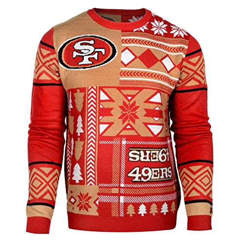 49Ers Patches Ugly Sweater