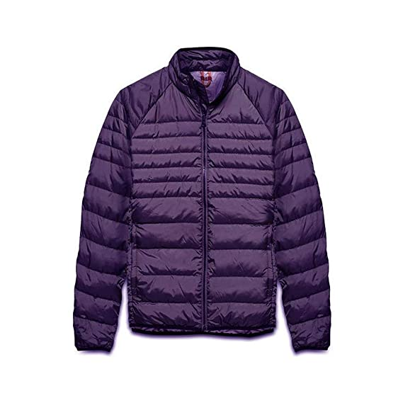 e8ee0987aec Timberland Men's Bear Head Packable Down Jacket (7752J 527) (Purple  Pennant) (Small): Amazon.co.uk: Clothing