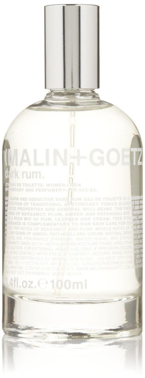 Malin + Goetz Eau de Toilette, Dark Rum, 3.4 Ounce