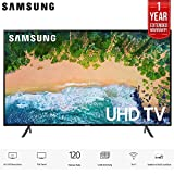 UN75NU7100 75' NU7100 Smart 4K UHD TV 2018 Model with 1 Year Extended Warranty