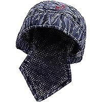Sharplace Blue Welders Protective Bandana Type Hood Welder Hat/Cap Welding Helmet