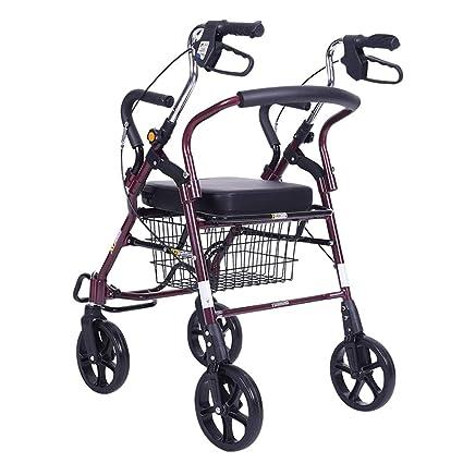 Silla de ruedas Rampas Caminante Carro De La Compra Carro Coche Deportivo Viejo Plegable Se Puede