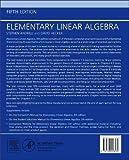 Elementary Linear Algebra, Fifth Edition
