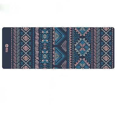 HJHY® Tapis de yoga, Suede matériel Yoga couverture antidérapante Portable Pliable Shop serviette Fitness tapis de yoga Bonne élasticité