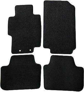 Amazon Com Floor Mats Compatible With 2004 2008 Acura Tsx Black Nylon Front Rear Flooring Protection Interior Carpets 4pc By Ikon Motorsports 2005 2006 2007 Automotive