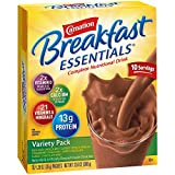 4 oz juice boxes - Carnation Breakfast Essentials Powder Drink Mix, Variety Pack, 10 Count Box of 1.26 oz Packets