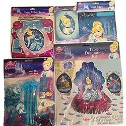 Disney Cinderella Party Supplies Starter Kit