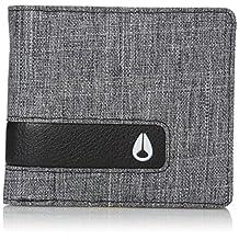 Nixon Men's Showtime Bi-Fold Zip Wallet