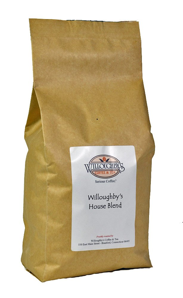 Willoughby's House Blend 5 lb - Whole Bean