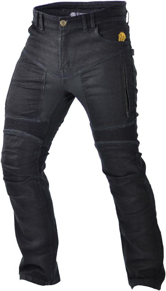 Trilobite Motorrad Herren Jeans Parado 46 lange schwarz Gr/ö/ße