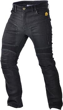 Size 32,8999900044688 Trilobite Motorcycle Men Jeans Black