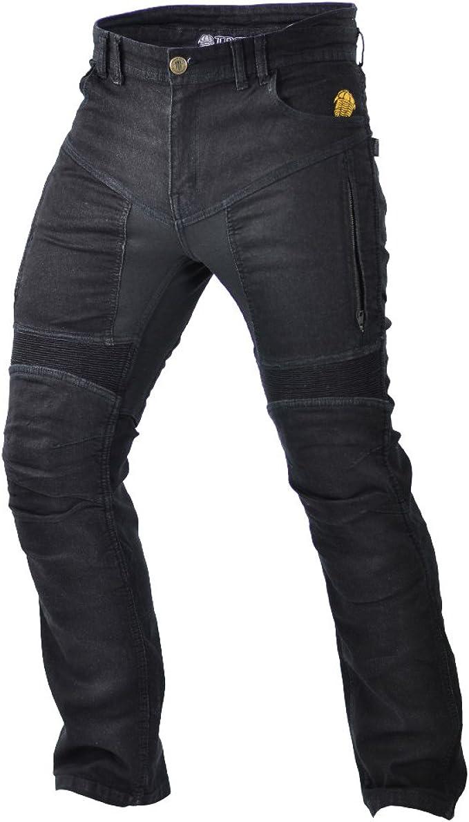 Trilobite Motorrad Herren Jeans Parado Schwarz Größe 40 Lange Bekleidung