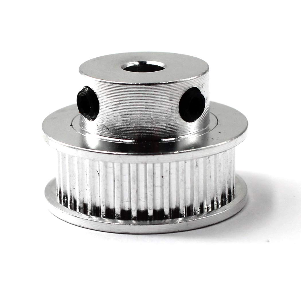 Wrench Included GT2 Timing Belt Pulley 40 Teeth 12mm Bore for 3D Printer CNC 6mm Width Belt Pack of 4